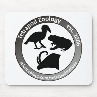 THE TETRAPOD ZOOLOGY LOGO MOUSE PAD
