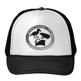 THE TETRAPOD ZOOLOGY LOGO TRUCKER HAT