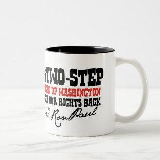 THE TEXAS 2 STEP Two-Tone COFFEE MUG