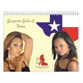 The Texas Calendar Girls 2010 12 month