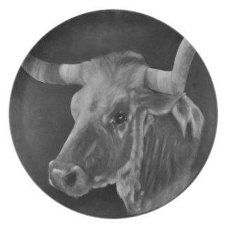 The Texas Longhorn 5 Plates