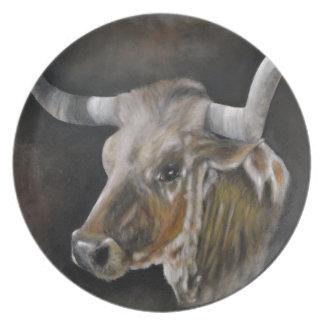 The Texas Longhorn Plates