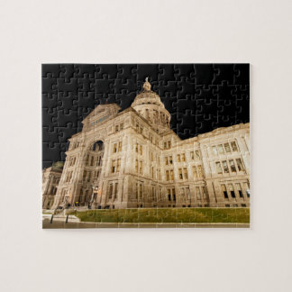 The Texas State Capitol, Downtown Austin, Texas Jigsaw Puzzle