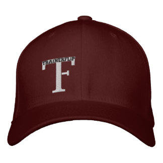 The TF hat in Maroon! Embroidered Hats