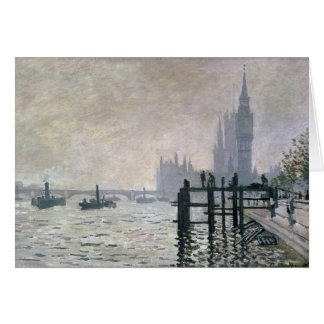 The Thames below Westminster - Claude Monet Cards