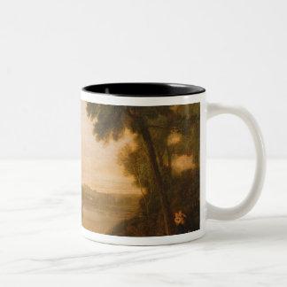 The Thames near Windsor, c.1807 Two-Tone Coffee Mug