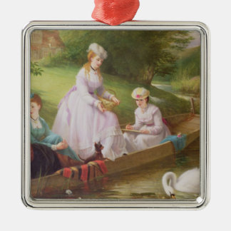 The Thames Swans Christmas Ornament