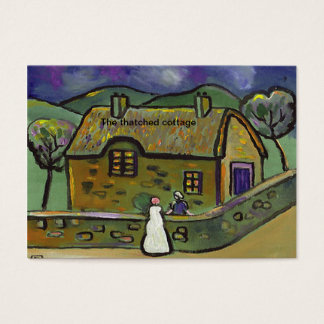 (The thatched cottage) Business Card