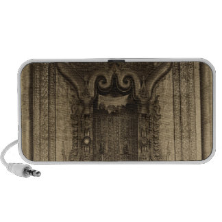 The The-ha-thana or the Lions' throne Laptop Speakers