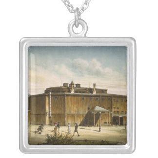 The theatre at Dresden Silver Plated Necklace