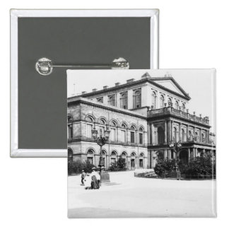 The Theatre at Hannover, c.1910 15 Cm Square Badge