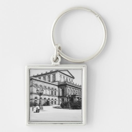 The Theatre at Hannover, c.1910 Keychains