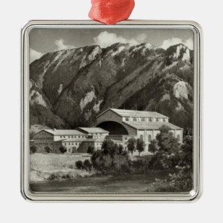 The Theatre at Oberammergau, 1930 Christmas Ornament