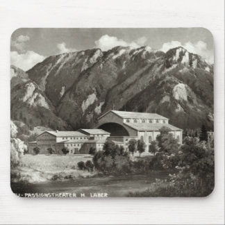The Theatre at Oberammergau, 1930 Mouse Mat