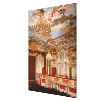 The Theatre Canvas Print
