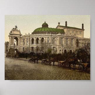 The Theatre, Odessa, Russia, (i.e., Ukraine) class Poster