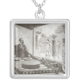The 'Theatre Optique' and its inventor Silver Plated Necklace
