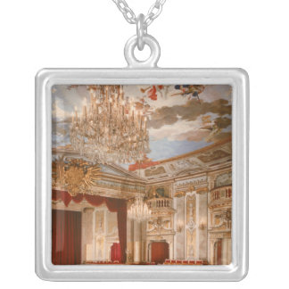 The Theatre Silver Plated Necklace