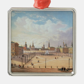 The Theatre Square in Moscow Christmas Ornament