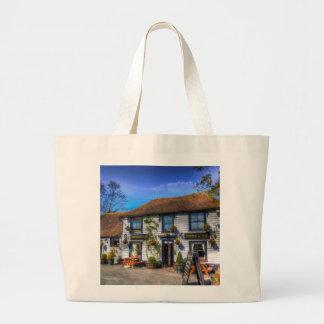 The Theydon Oak Pub Large Tote Bag