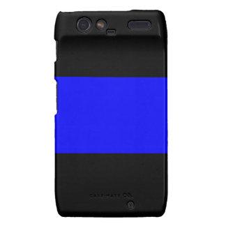 The Thin Blue Line Motorola Droid RAZR Cover