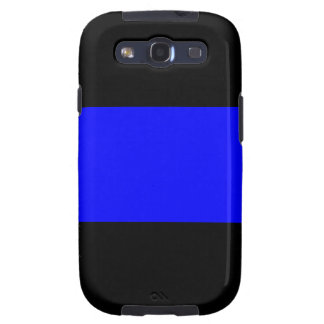 The Thin Blue Line Galaxy SIII Cases