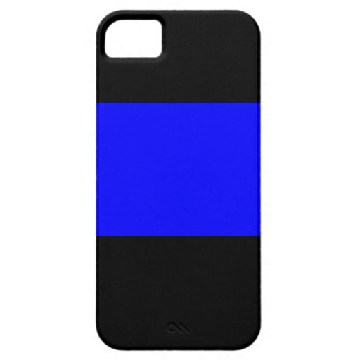 The Thin Blue Line Cover For iPhone 5/5S