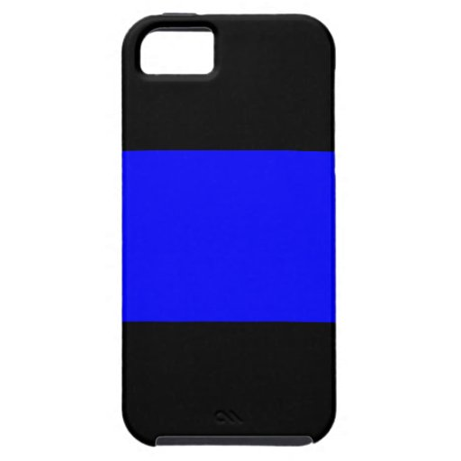 The Thin Blue Line iPhone 5/5S Cases