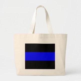 The Thin Blue Line Jumbo Tote Bag