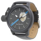 The Thin Blue Line Police Officer Watch