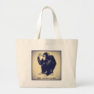 The Thinker Tote Bags