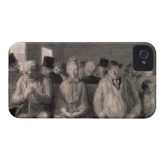 The third class carriage (w/c) iPhone 4 Case-Mate case