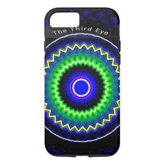 The Third Eye Blue Trendy Kaleidoscope iPhone 7 iPhone 7 Case
