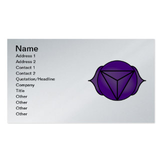 The Third Eye Chakra Pack Of Standard Business Cards