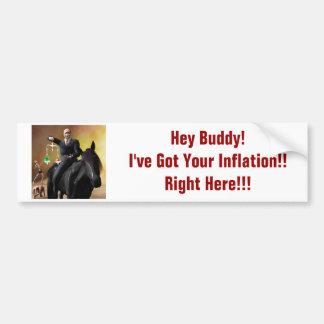 The Third Horseman Bumper Sticker