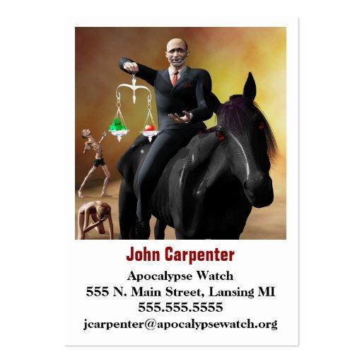 The Third Horseman Business Card Templates