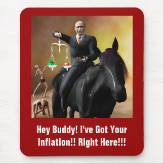 The Third Horseman Mouse Pad