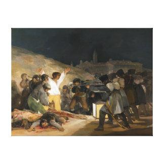 The Third of May 1808 by Francisco Goya Canvas Print