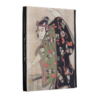 The Third Otani Oniji as Samurai Katsukawa Shunsho iPad Folio Cases