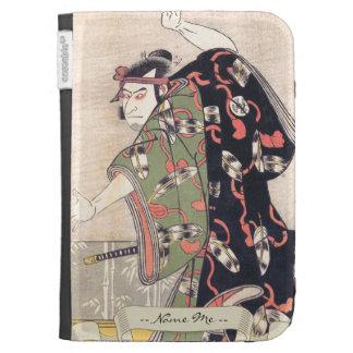 The Third Otani Oniji as Samurai Katsukawa Shunsho Kindle 3 Cover