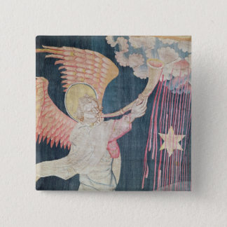 The Third Trumpet and the Wormwood Star 15 Cm Square Badge