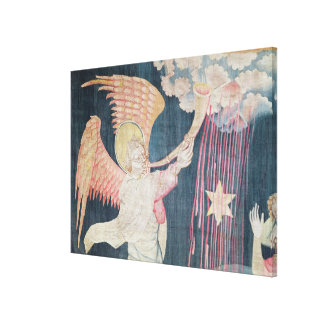 The Third Trumpet and the Wormwood Star Canvas Print