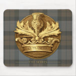 The Thistle of Scotland Emblem Mouse Pad