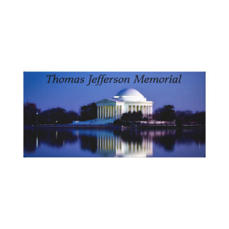 The Thomas Jefferson Memorial Canvas Print