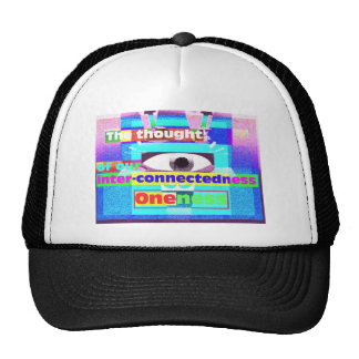 the thought of our intrinsic inter-connectedness hats