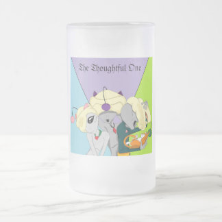 The Thoughtful One Crew Frosted Glass Mug