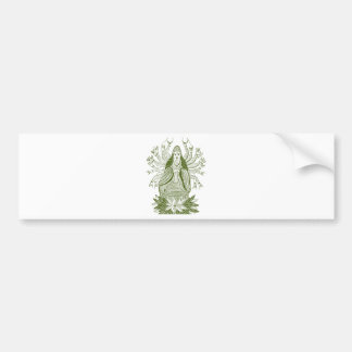 The Thousand-handed Kwan Yin Bumper Sticker