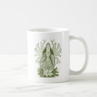 The Thousand-handed Kwan Yin Coffee Mug