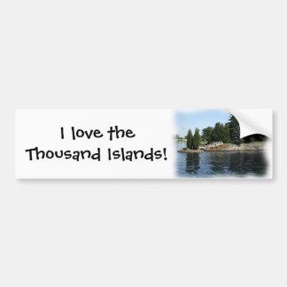 The Thousand Islands #1 Bumper Sticker