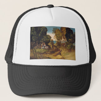 The Three Ages of Man by Dosso Dossi Trucker Hat